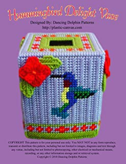 Hummingbird Delight Boutique Tissue: Plastic Canvas Pattern