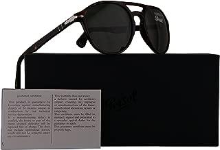Persol PO3170S Sunglasses Dark Havana w/Green Lens 52mm 901531 PO 3170-S PO3170-S PO 3170S