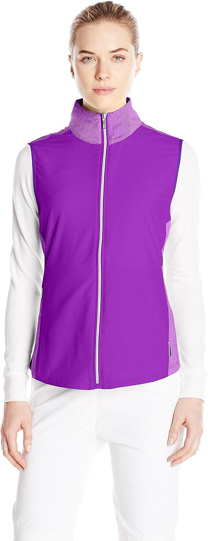 Cutter & Buck Women's Cb Drytec Laura Hybrid Vest