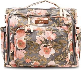 JuJuBe BFF Diaper Backpack, Multi-Functional Convertible + Messenger Bag | Travel-Friendly, Stylish