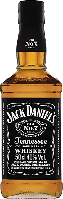 Jack Daniel's Old No.7 Tennessee Whiskey, 500 ml