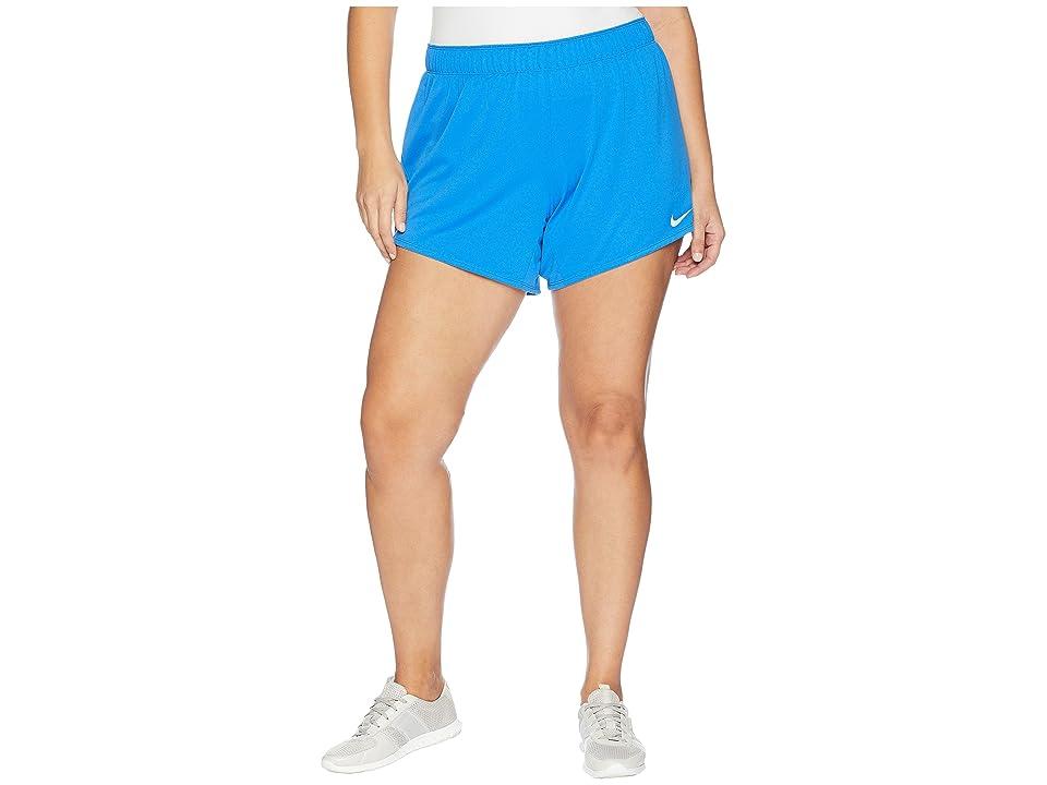 Nike Flex Attack TR5 Shorts (Size 1X-3X) (Signal Blue/Cobalt Tint) Women