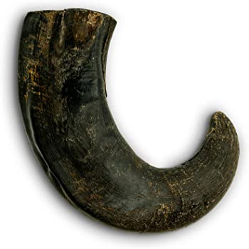 Pet Craft Supply Pure Natural Grass Fed Water Buffalo Horn Durable Tough Dog Chew for Aggressive Chewers and Puppies