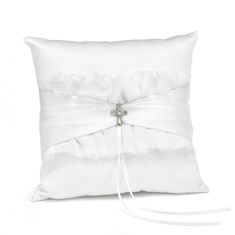 Hortense B. Hewitt Faith and Love Wedding Accessories, Ring Pillow