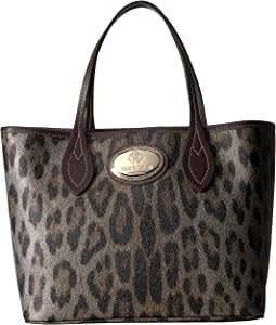 Leo Animal Print Dark Brown