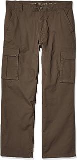 Smith's Workwear Men's Polar Fleece Lined Canvas Cargo Pant