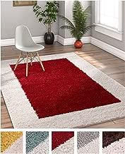 Best red beige area rug Reviews
