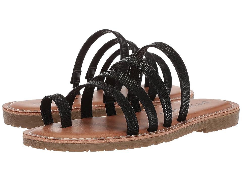 Dirty Laundry Ekia Slide Sandal (Black Metallic) Women