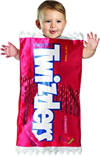 Child's Classic Twizzlers Strawberry Candy Baby Bunting Costume
