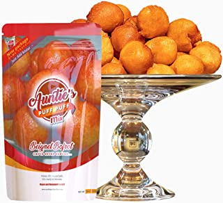 Aunties Puff Puff Mix- Value 2pack ( Just Add Water), brofloat, kala, beignet, african snack