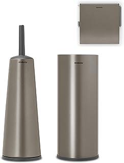 Brabantia ReNew Toiletaccessoires, set van 3 - Platinum