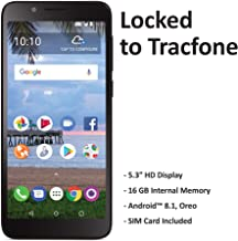 $25 » TracFone Carrier-Locked TCL LX 4G LTE Prepaid Smartphone - Black - 16GB - Sim Card Included - CDMA (Renewed)