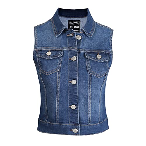 top-rated quality find workmanship top-rated latest Denim Vest Women: Amazon.com
