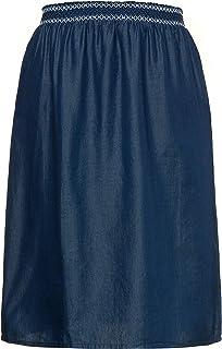 6ff7f5542d1 Ulla Popken Femme Grandes Tailles Jupe Denim