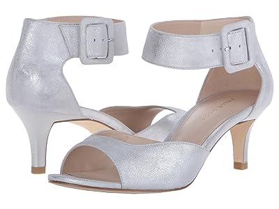 Pelle Moda Berlin (Silver Metallic Suede) High Heels