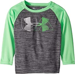 UA Linear Logo Twist Raglan (Toddler)