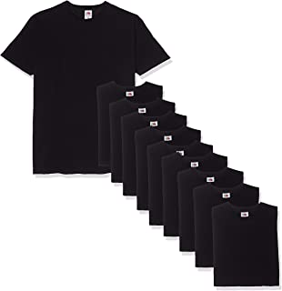 Fruit of the Loom Men's Valueweight Short Sleeve T-Shirt (Pack of 10)