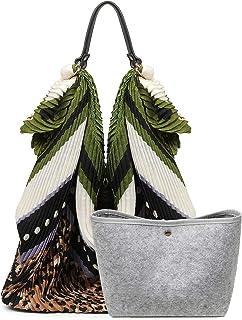 القطن هيبي هوبو حقيبة للنساء ريترو حقائب الكتف عارضة حمل حقائب اليد