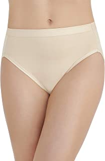 Vanity Fair Women's Comfort Where It Counts Hi Cut Panty 13164