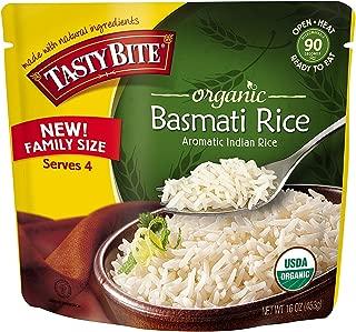 Tasty Bite Organic Basmati Rice, 16 Ounce (Pack of 24)