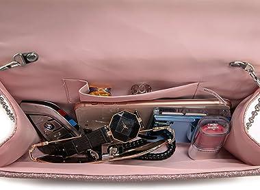 Fateanuki Damen-Clutch, Geldbörse, Umschlag, Abendtasche, Geldbörsen und Handtaschen, Crossbody-Taschen für Frauen, Hochzeite