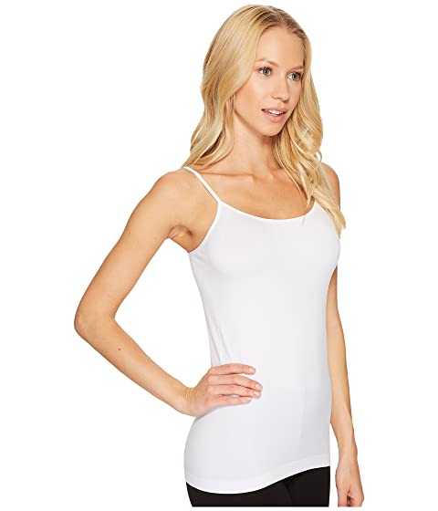 Coobie Women/'s Essential Wide Strap Camisole Most Comfortable One Size White