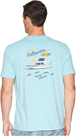 Tommy Bahama Followers on Line Tee