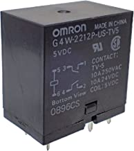 OMRON(オムロン) 汎用品 形G4W DC 5V パワーリレー G4W-2212P-US-TV5 5VDC