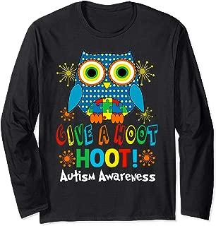 Best give a hoot autism awareness t shirt Reviews