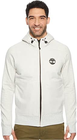 Timberland - Weir River Full Zip Mixed Media Hoodie