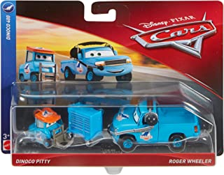Disney Pixar Cars Roger Wheeler and Dinoco Pitty