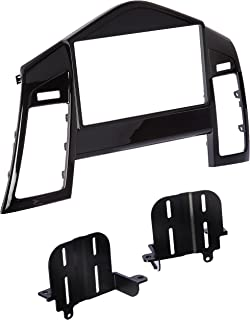 Scosche GM5205B Compatible with 2011-Up Chevrolet Cruze ISO Double DIN & DIN+Pocket Dash Kit, Black