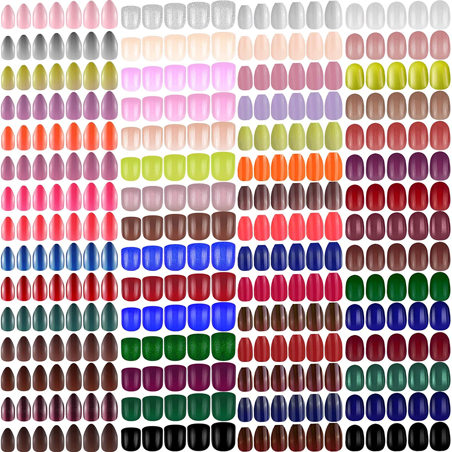 1440 Pieces 60 Set Short Ballerina on Press Po Coffin Super beauty product restock quality top Nail High material