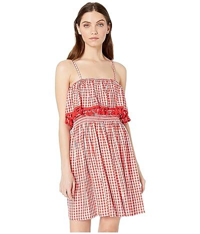 Jack by BB Dakota Hayride Gingham Dress (Poppy Red) Women