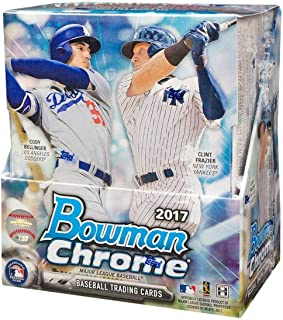 2017 Bowman Chrome MLB Baseball HOBBY box (12 pk)
