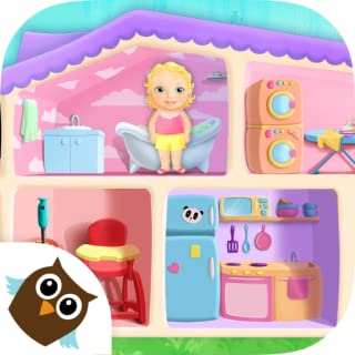 Sweet Baby Girl Doll House - Play, Care & Bed Time