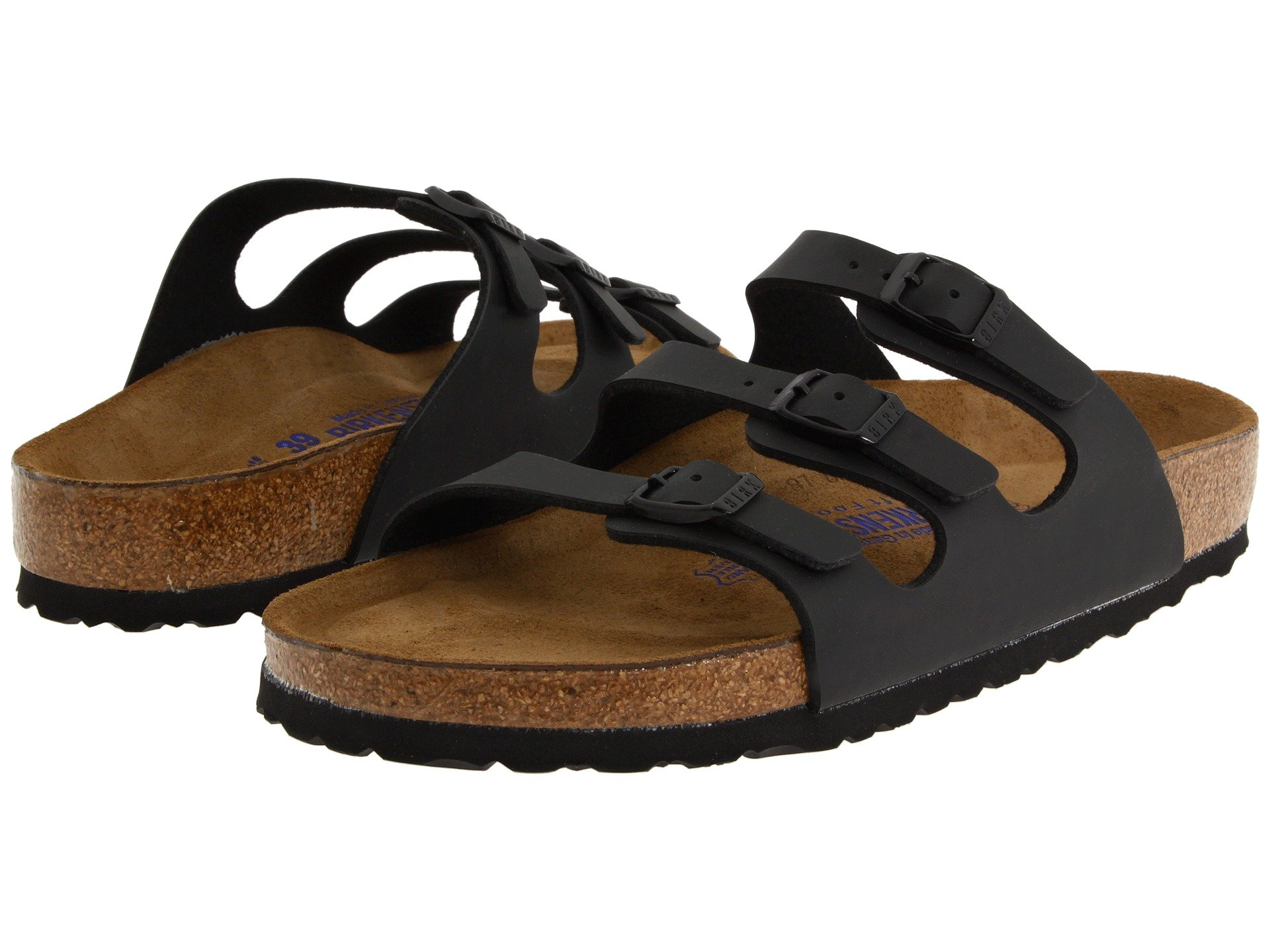 Birkenstock Florida Soft Footbed Birko Flor At Zappos Com