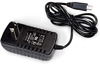 HQRP Home Wall AC Adapter Charger for Magellan RoadMate 2120T / 2120T-LM / 2136T-LM / 2145T-LM / 3030/3030-LM / 3045/3045-LM / 3045-MU GPS [UL Listed] Plus Euro Plug Adapter