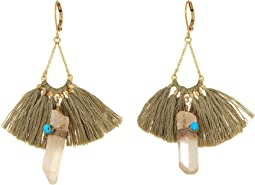 SHASHI - Celestine Tassel Earrings