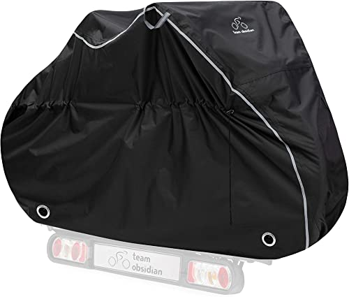 Bike Cover - Waterproof Outdoor Bike Storage For 1, 2 or 3 Bikes - Heavy Duty Ripstop Material - 2 Styles: Stationary...