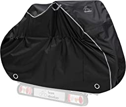 3 Sizes Travel Bike Cover for Transport on Rack w// Large Translucent Ends