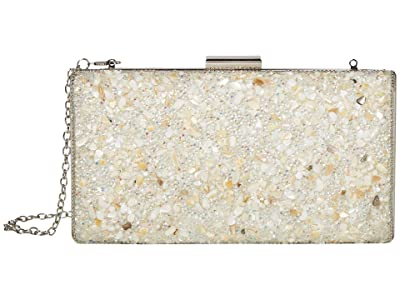 Jessica McClintock Jordana (White) Clutch Handbags