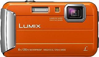 Panasonic Lumix DMC-FT30EG-D - Cámara compacta de 16.6 MP (Pantalla de 2.7 Zoom óptico 4X estabilizador) Color Naranja (Importado)