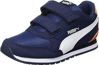 Puma Baby-Boy's St Runner V2 Mesh Ac Little Kids' Shoes Running