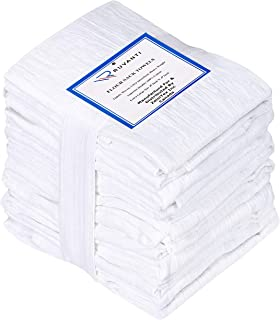 "Sponsored Ad - Ruvanti 6 Pack Extra Large Flour Sack Dish Towels (28"" X 28"") Highly Absorbent Kitchen Towels/Tea Towels - ..."
