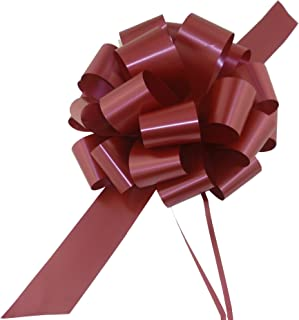 Large Burgundy Gift Pull Bows - 9