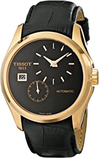 Tissot Men's T0354283605100 Analog Display Automatic Self Wind Black Watch