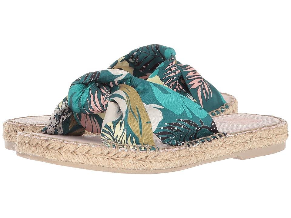 Dolce Vita Benicia (Green Palm Print) Women