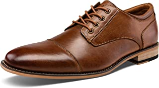 Men's Oxford Retro Leather Formal Dress Shoes