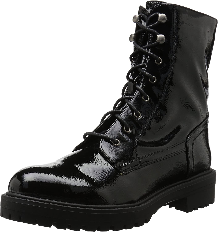 Coolway Women's Draco Motorcycle Boot, Black, 42 Medium EU (11-11.5 US)